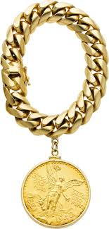 bracelet charm gold jewelry images A gold coin charm bracelet 14k gold charm bracelet suspending jpg