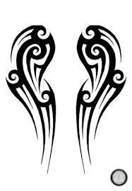 wing tribal tattoo by alchemistangel on deviantart