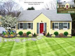 Ideas For Landscaping by Garden Design Garden Design With Small Evergreen Trees For
