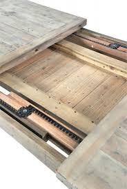 reclaimed wood extending dining table buy ashley rustic reclaimed wood extending dining table online cfs uk
