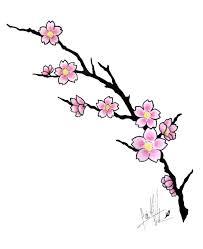cherry blossom tattoo design by caiojhonson on deviantart