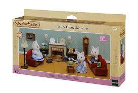Sylvanian Families Luxury Living Room Set Amazoncouk Toys  Games - Sylvanian families luxury living room set