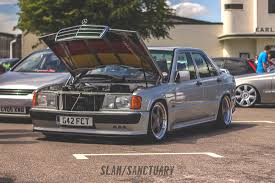lowered mercedes 190e airlift airlift performance slam sanctuary