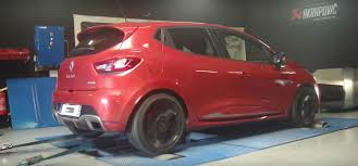 renault 4 tuning renault clio 4 rs 200 with 1 6 liter turbo actually makes 181 hp