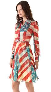 Model American Flag Catherine Malandrino Flag Dress Shopbop