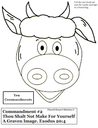 10 commandments kjv bible craft ten commandments coloring pages