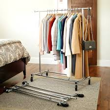 foldable coat rack shown folded up commercial folding coat racks