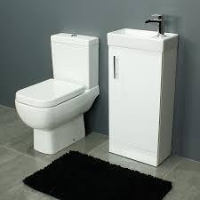 Bathroom Vanity Unit Uk by Rak Series 600 Toilet And 400 Series Gloss White Vanity Unit