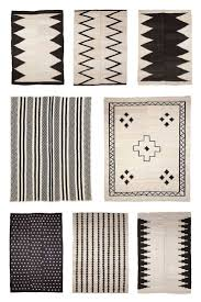 Aztec Design Rugs Black And White Aztec Rug Rugs Decoration