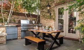 cuisine de jardin en cuisine d été extérieure 15 idées d aménagement fonctionnel et moderne