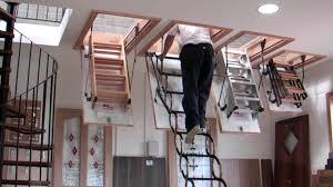 murphy larkin attic stairs attic ladders youtube garage attic