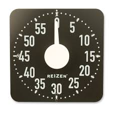 maxiaids extra large tactile magnetic kitchen timer white with