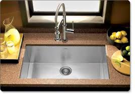 Ss Undermount Kitchen Sinks by Houzer Cts 2300 Contempo Series Undermount Stainless Steel Single