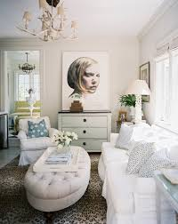 White Leopard Rug Beige Living Room Photos 523 Of 589