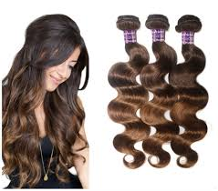 Black To Brown Ombre Hair Extensions by Amazon Com Fashion A Plus Tm Brazilian Human Hair Ombre Hair