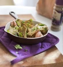 cuisiner les artichauts violets artichauts violets à la coriandre les meilleures recettes de