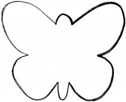 cut outs printable butterfly cutouts 8361