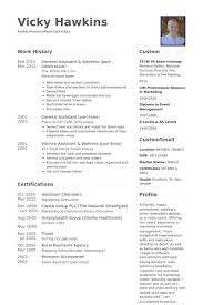 Resume Examples For Waitress by General Assistant Resume Samples Visualcv Resume Samples Database