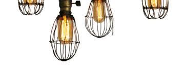 make diy vintage style cage lights man made diy crafts