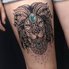best 25 mandala lion tattoo ideas on pinterest mandala lion
