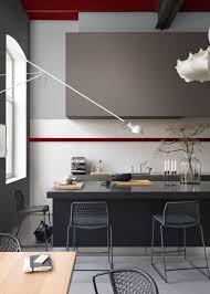 Peinture Rouge Cuisine by Indogate Com Cuisine Gris Anthracite Et Rouge