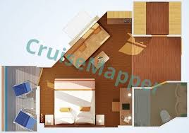 carnival cruise suites floor plan carnival horizon cabins and suites cruisemapper