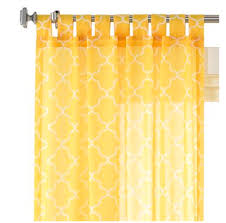 lola sheer curtain panel decor by color
