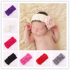 crochet bands newborn crochet flower hair bands online newborn crochet flower