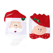 snowman chair covers c67619 new santa claus christmas chair cover christmas chair sets