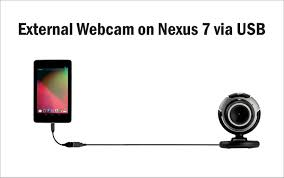 how to connect an external webcam on nexus 7 via usb root youtube