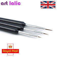 black pens nail art supplies ebay