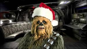 star wars chewbacca sings jingle bells christmas song