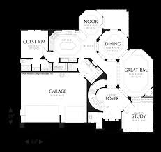 mascord house plan 2355 the reynolds main floor plan
