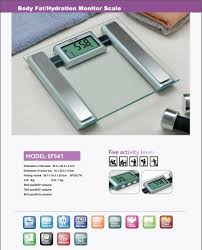 superco home theater appliances camry body fat hydration monitor scale with big lcd display