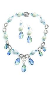 Jewelry Making Design Ideas Jewelry Design Single Strand Necklace And Earring Set With