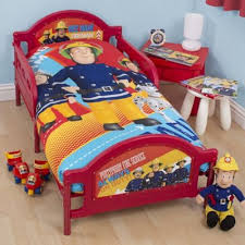 buy fireman sam toddler junior bed toddler beds range tesco