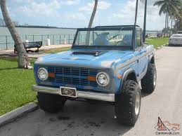 opel jeep ford bronco original paint offroad classic vintage suv truck jeep