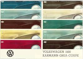 mad for mid century vw color chart of mid century paint colors