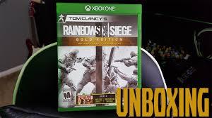 Buy Rainbow Six Siege Gold Rainbow Six Siege Gold Edition Unboxing Secret Giveaway