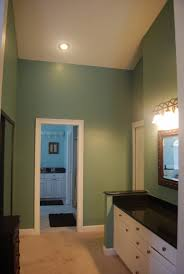 green bathroomt and gray hondaherreros marvelous soothing colors