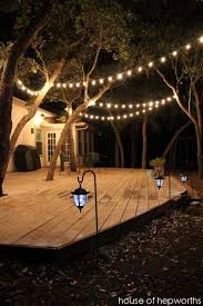 Outdoor Patio Lights Ideas 25 Best Ideas About Outdoor Patio Lighting On Pinterest Patio