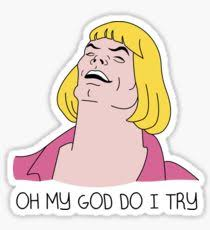 He Man Meme - he man meme stickers redbubble