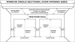 Standard Door Sizes Interior Standard Garage Door Sizes Single Roller Doors Standard