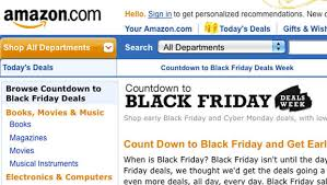 all amazon black friday deals amazon starting