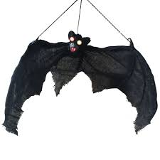 Halloween Props Aliexpress Com Buy Light Up Eyes Hanging Bat Halloween Props