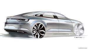 talisman renault black 2016 renault talisman design sketch hd wallpaper 43