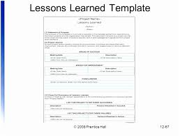 lessons learned report template 7 project management lessons learned template free templatesz234