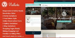 valleta bootstrap food u0026 restaurants html template by mannatstudio