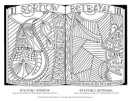 stations of the cross coloring pages for all ages u2013 illustrated