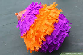 How To Make Mexican Paper Flowers - how to make a piñata with pictures wikihow